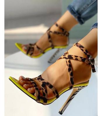 Sandales à talons Valéria
