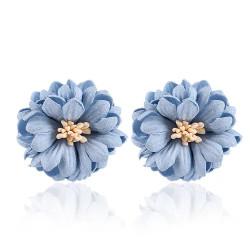 Boucles d'oreilles maxi fleur