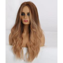 Perruque wigs long caramel...